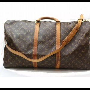 Authentic Louis Vuitton Keepall 55 with Strap